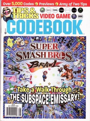 Tips & Tricks Video Game Codebook July-August 2008