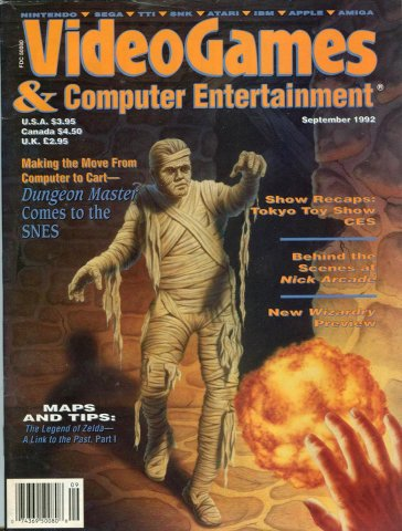 Video Games & Computer Entertainment Issue 44 September 1992