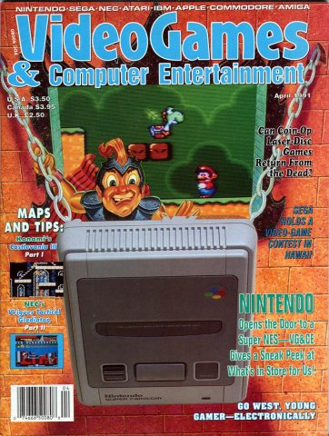 Video Games & Computer Entertainment Issue 27 April 1991