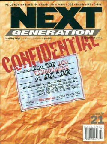 Next Generation Issue 21 Setpember 1996