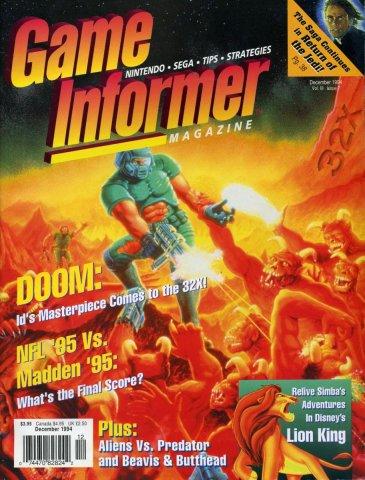 Game Informer Issue 020 December 1994