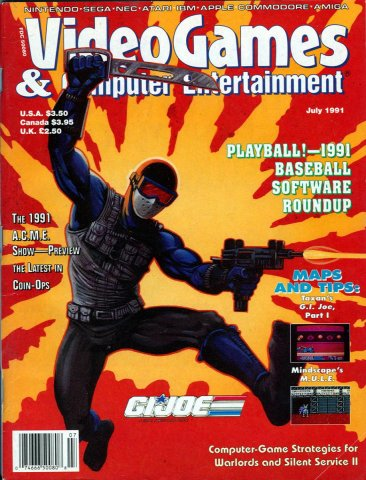 Video Games & Computer Entertainment Issue 30 July 1991