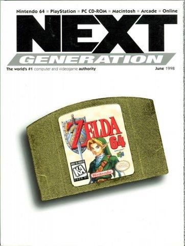 Next Generation Issue 42 June 1998  alt. cover