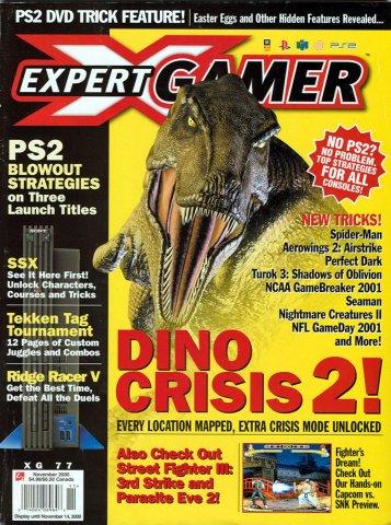 Expert Gamer Issue 77 (November 2000)