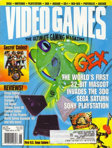 Video Games Issue 77 June 1995