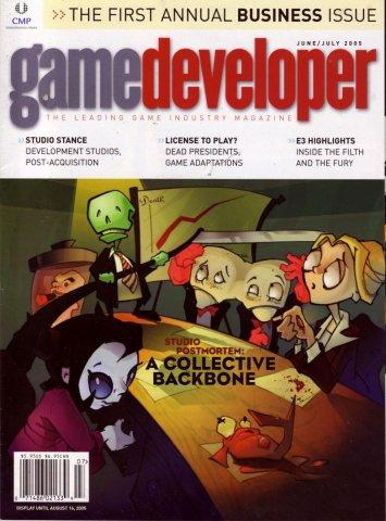 Game Developer 114 Jun 2005