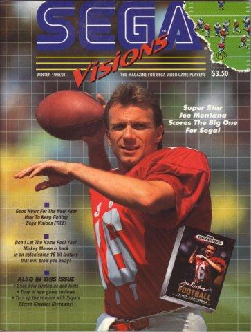 Sega Visions Issue 003 (Winter 1990/91)
