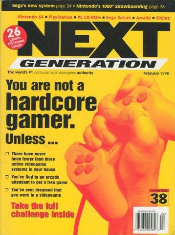Next Generation Issue 38 February 1998