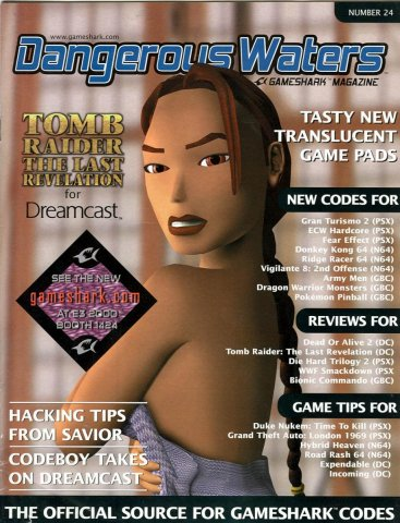 Dangerous Waters 024 Gameshark Magazine
