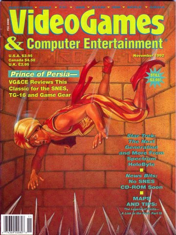 Video Games & Computer Entertainment Issue 46 November 1992