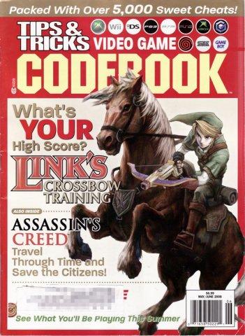 Tips & Tricks Video Game Codebook May-June 2008