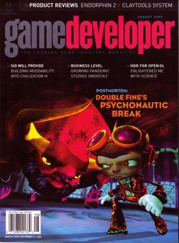 Game Developer 115 Aug 2005