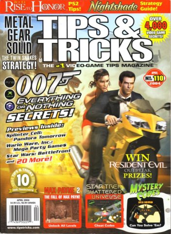 Tips & Tricks Issue 110 April 2004