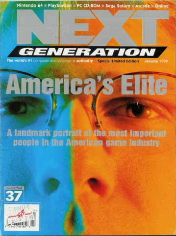 Next Generation Issue 37 January 1998 Limited Edition