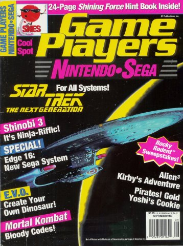 Game Players Issue 051 September 1993
