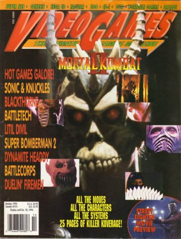 Video Games Issue 69 October 1994