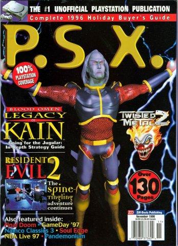 PSX Issue 08 (Noevmber 1996)