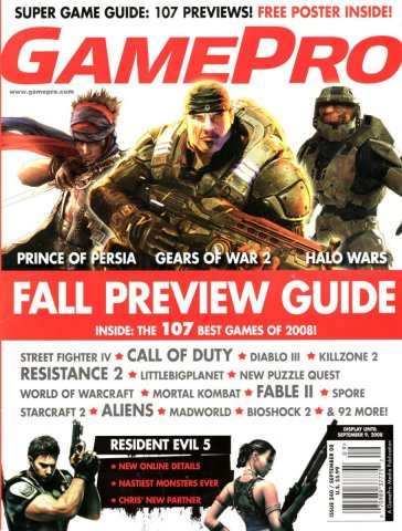 GamePro Issue 240 September 2008