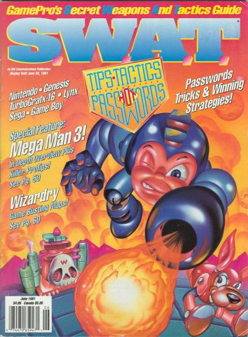 S.W.A.T. Issue 02 June 1991