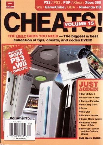Cheats! Volume 15