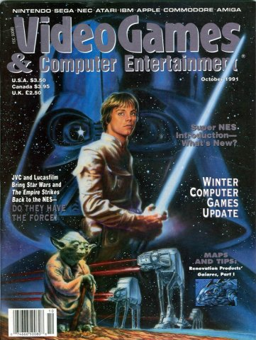 Video Games & Computer Entertainment Issue 33 October 1991