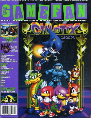 Gamefan Issue 28 April 1995 (Volume 3 Issue 4)