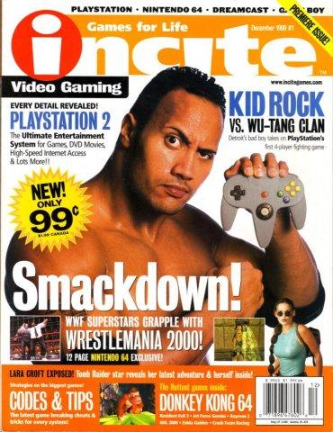 incite Video Gaming Issue 01 (December 1999)