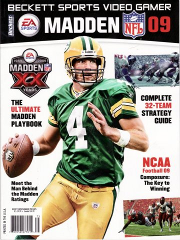 Beckett Sports Madden NFL 2009 09 - Unsorted Covers - Retromags