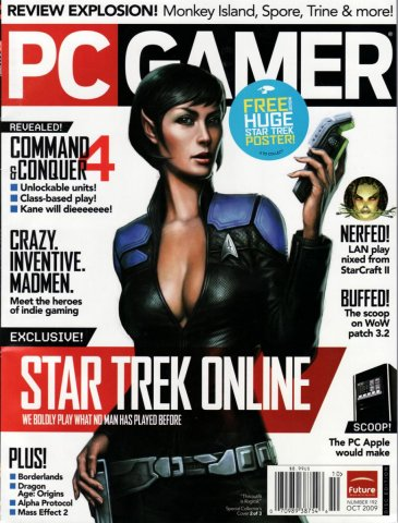 PC Gamer Issue 192 October 2009 (cover 2)