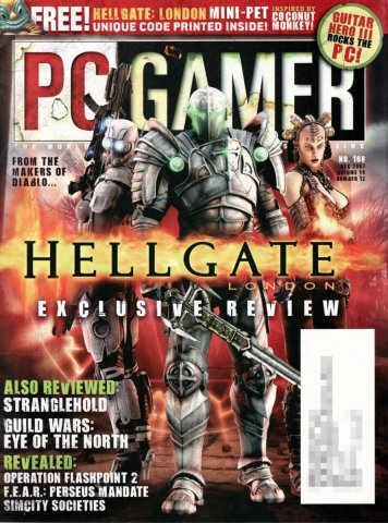 PC Gamer Issue 168 December 2007