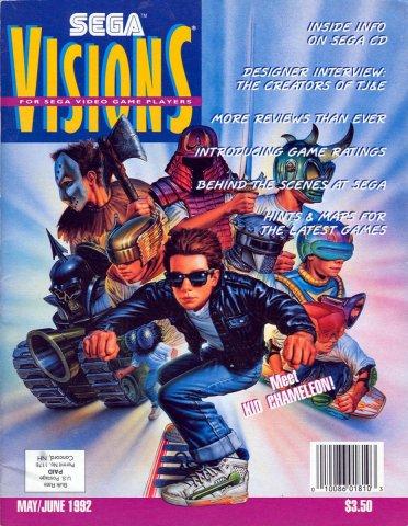 Sega Visions Issue 008 (May/June 1992)