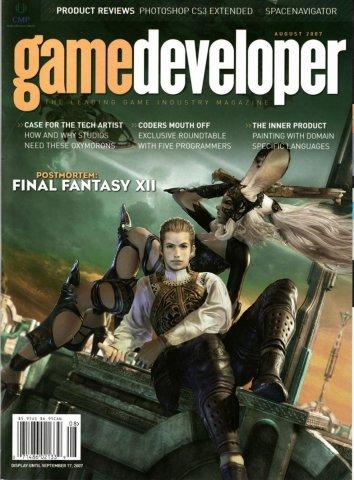 Game Developer 137 Aug 2007
