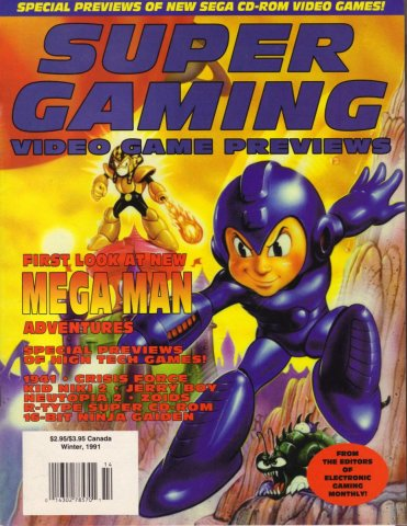 Super Gaming Issue 3 (Winter 1991)