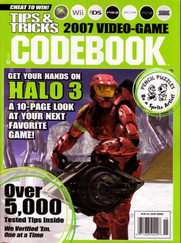 Tips & Tricks 2007 Video-Game Codebook