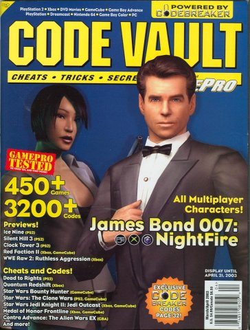 Code Vault Issue 10 March/April 2003