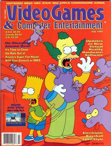 Video Games & Computer Entertainment Issue 42 July 1992