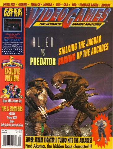 Video Games Issue 65 June 1994