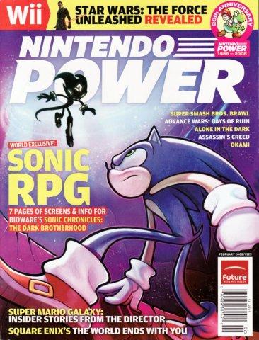 Nintendo Power Issue 225 (February 2008)