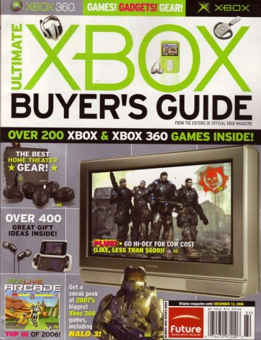 Official xbox issue  ultimatexboxbuyersguide