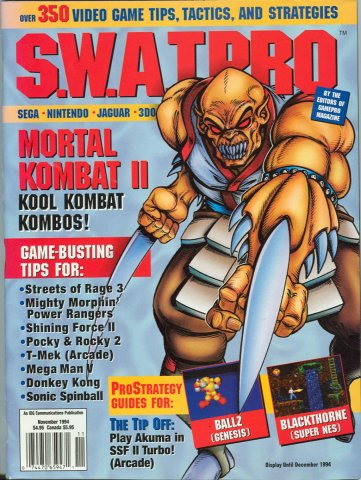 S.W.A.T.Pro Issue 20 November 1994
