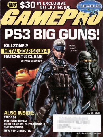 GamePro Issue 230 November 2007