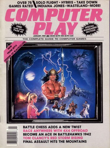Computer Play Jan 1989
