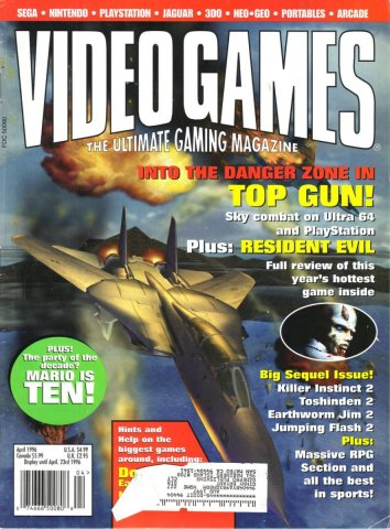 Video Games Issue 87 April 1996