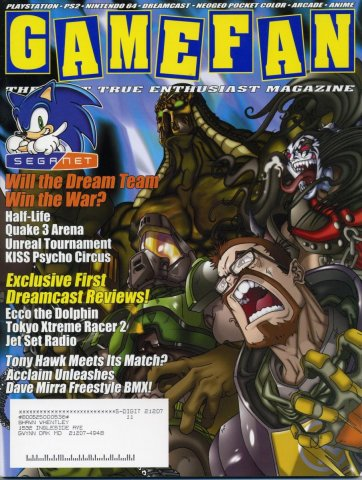 Gamefan Issue 85 September 2000 (Volume 8 Issue 9)