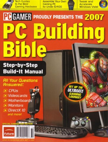 PC Gamer 2007 PC Building Bible