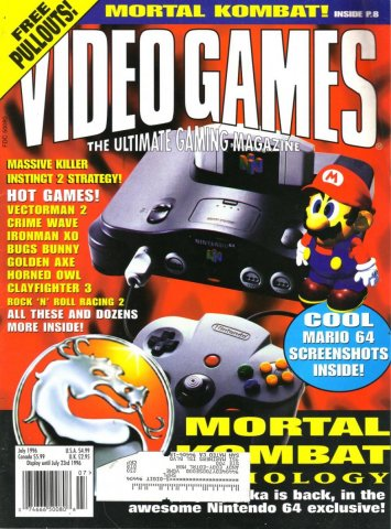 Video Games Issue 90 July 1996