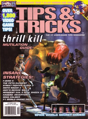 Tips & Tricks Issue 044 October 1998