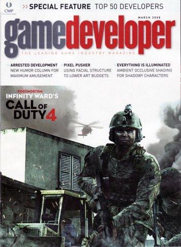 Game Developer 144 Mar 2008