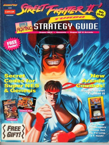Street Fighter 2 Turbo - Gamepro/Capcom Strategy Guide