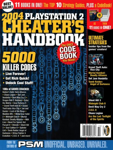 PSM 2004 PlayStation 2 Cheater's Handbook